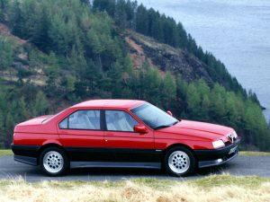 Alfa-Romeo 164  2.0 V6 Turbo 164.A2G,164.A2F 204 KM Sedan