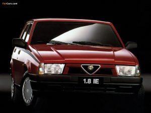 Alfa-Romeo 75  1.6 162.B2B,162.B2C KAT 110 KM Sedan