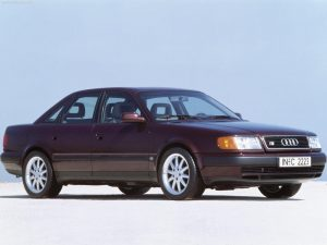Audi 100  2.6 V6 quattro 150 KM Sedan