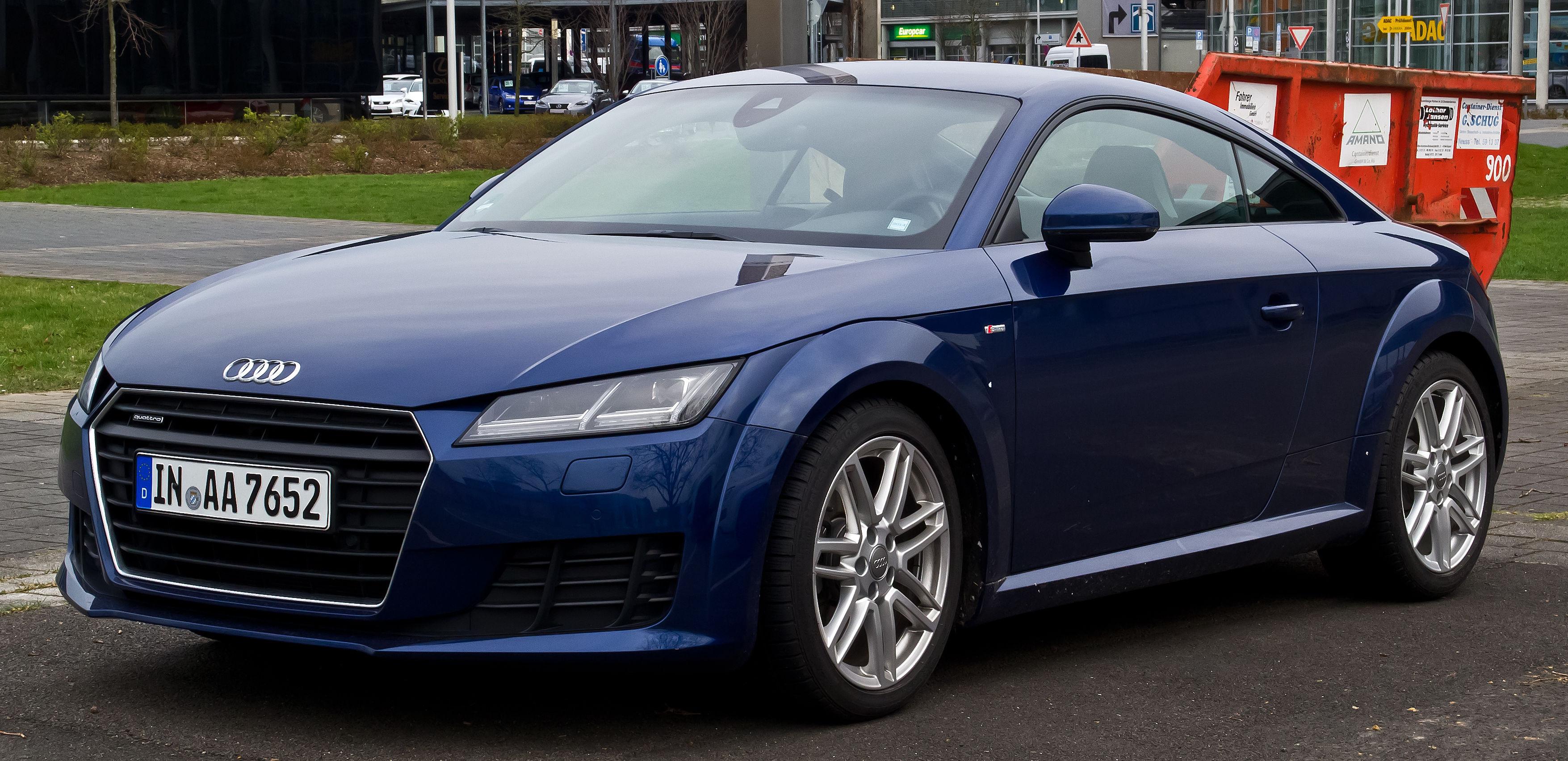 Audi TTS  2.0 MT (310 HP) 4WD - dane techniczne, wymiary, spalanie i opinie