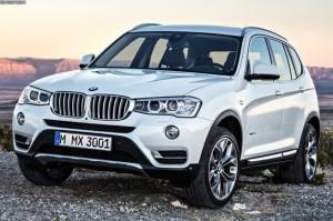BMW X3  20i xDrive 2.0 AT (184 HP) 4WD SUV