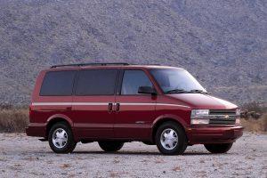 Chevrolet Astro  4.3 i V6 192 KM Minivan