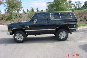 Chevrolet Blazer  5.0L V8 (155Hp) –