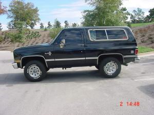 Chevrolet Blazer  5.7L V8 (210Hp) –