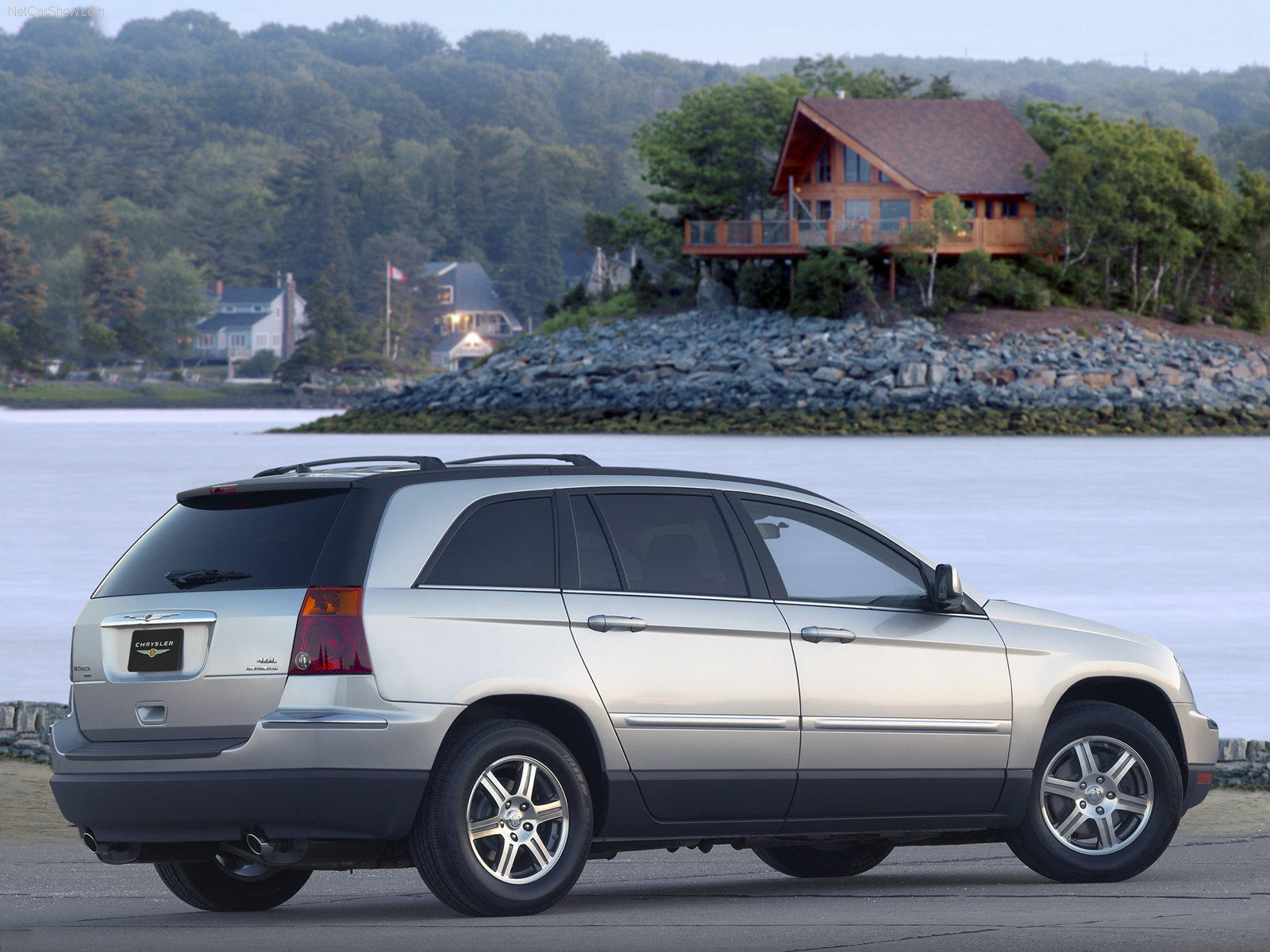 Chrysler Pacifica  3.5 i V6 24V FWD 253 KM Suv