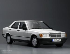 Mercedes-Benz 190  2.5 TD 126 KM Sedan