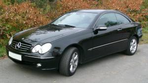 Mercedes-Benz CLK-klasse  350 272 KM Coupe