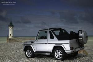 Mercedes-Benz G-Klasse  300 GD 463.307 113 KM Cabrio