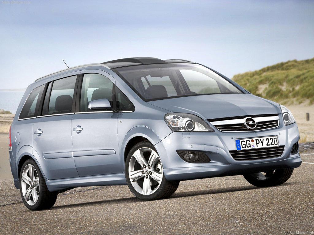 Opel Zafira  2.2i 150KM Minivan