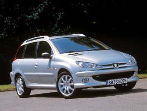 Peugeot 206  1.6 i 16V 110 KM Suv