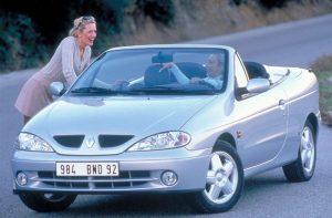 Renault Megane  1.6 i 16V 140 KM Cabrio