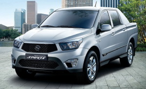 SsangYong Actyon-Sports  2.0d MT (141 HP) 4WD Pickup