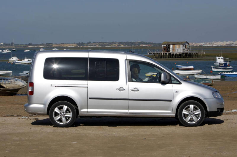 Volkswagen Caddy  1.9 TDI 105 KM 6 DSG Minivan