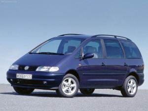 Volkswagen Sharan  2.8i VR6 204KM Minivan