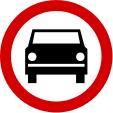 Znaki drogowe B-3