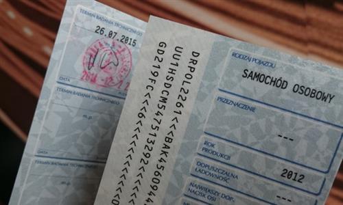 Pełnomocnictwo do odbioru dowodu rejestracyjnego