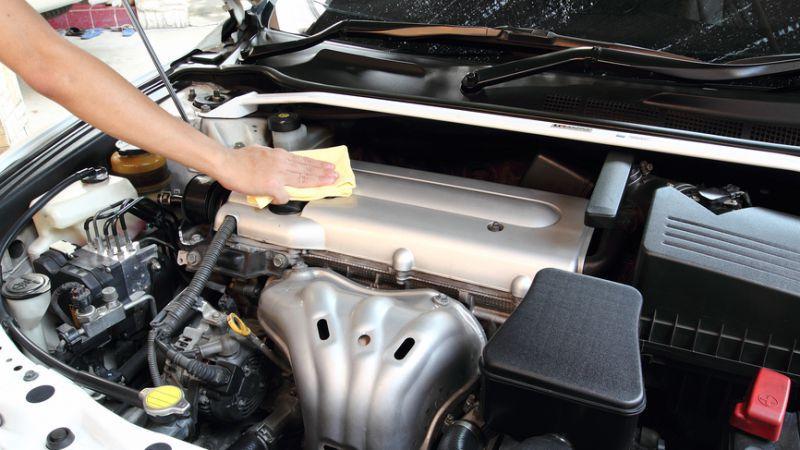 płukanka silnika