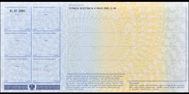 dokumenty do rejestracji samochodu