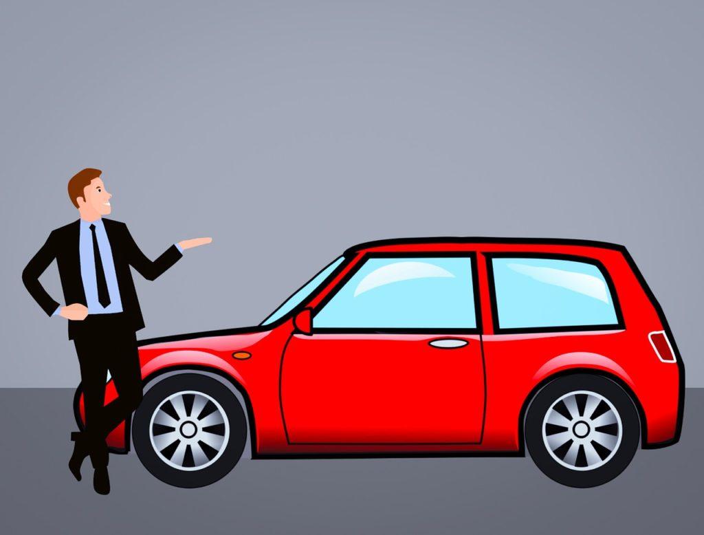 strony z autami z niemiec