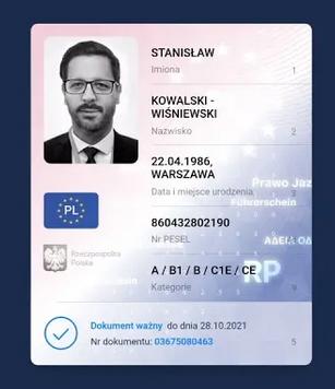 aplikacja mobywatel prawo jazdy