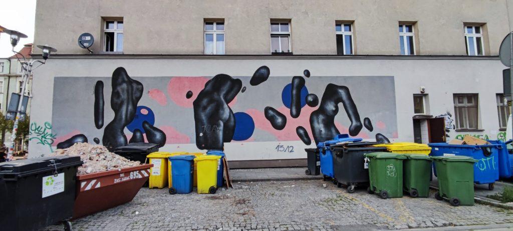 Mural przy ul. Mariackiej Tylnej w Katowicach