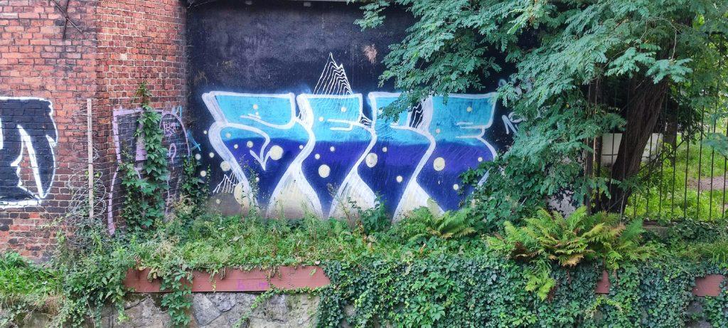 Graffiti w okolicach Katowickiego rynku