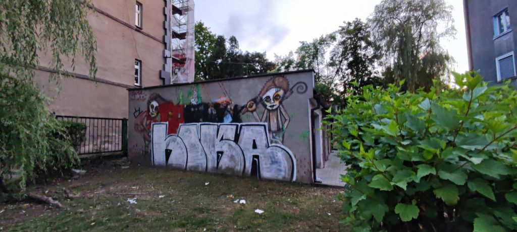 Graffiiti w Katowcach - Dzielnica Koszutka
