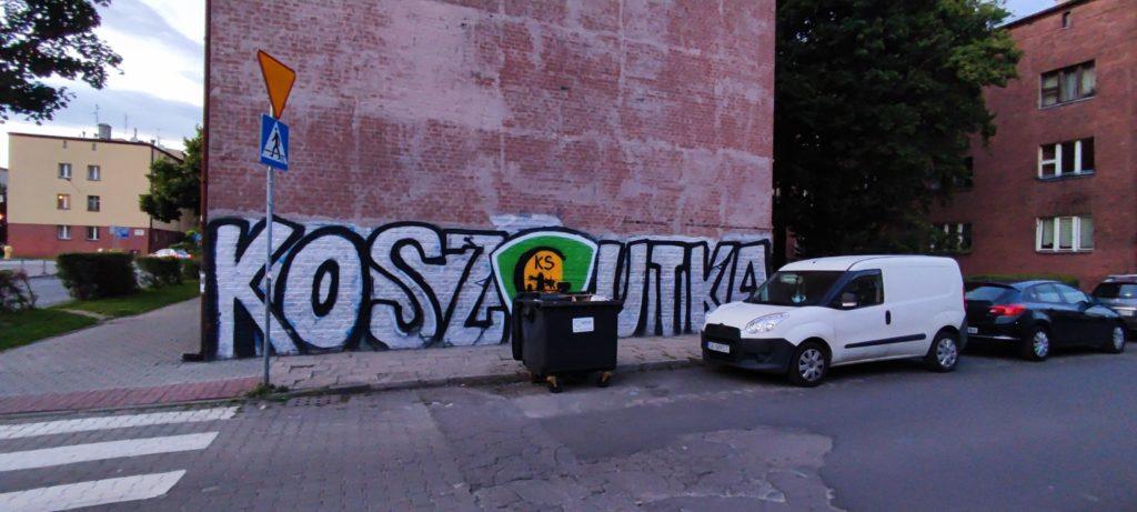 Graffiiti w Katowicach - Dzielnica Koszutka