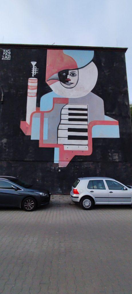 Graffiiti w Katowicach - Dzielnica Bogucice