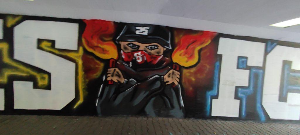 Grafiti Katowice Zaowodzie / Bogucice