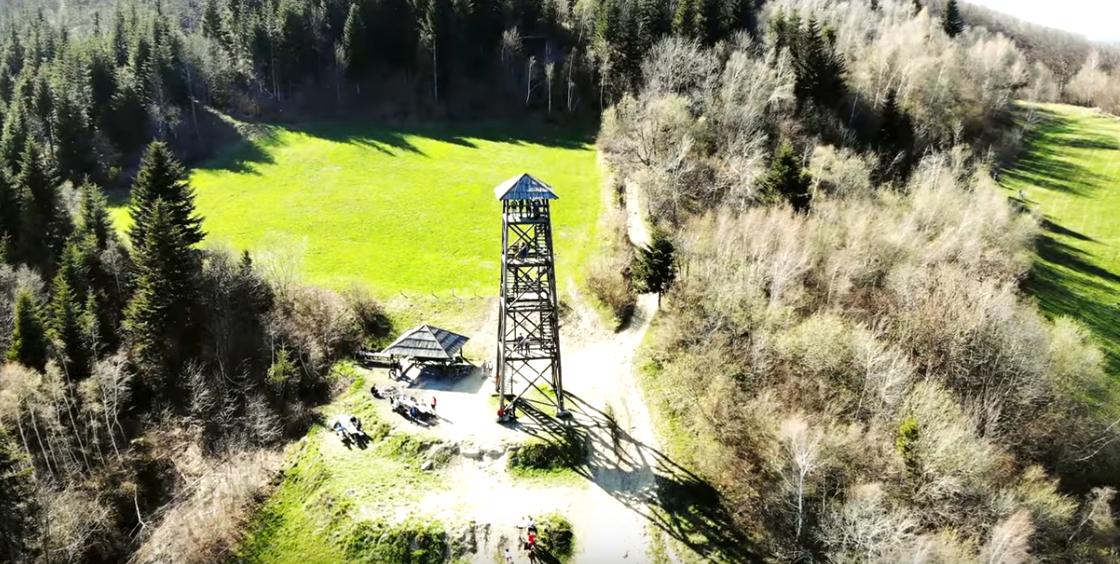 Wieża widokowa pod Jaworem
