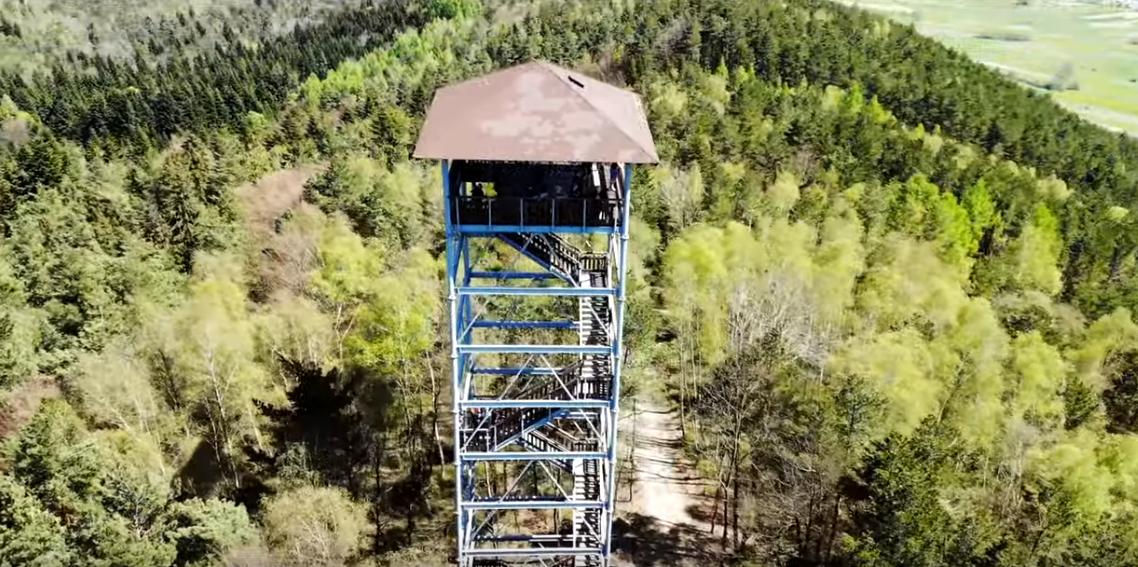 Wieża Widokowa Szpilówka w Iwkowej