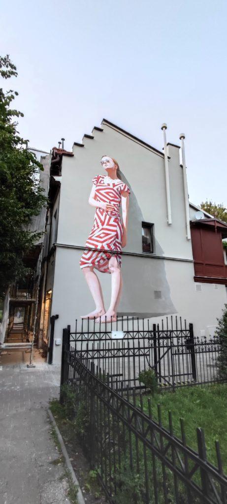Mural w Sopocie przy ul.Hefnera