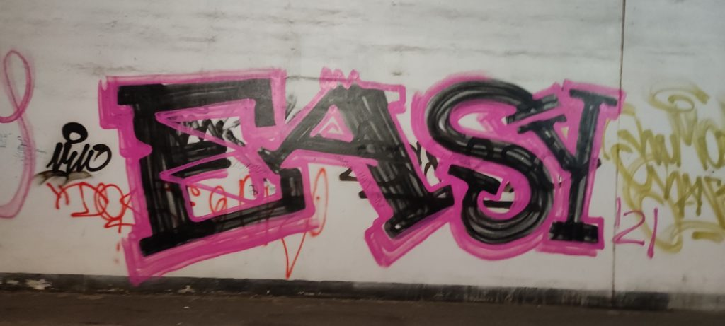 Graffiti w Sopocie