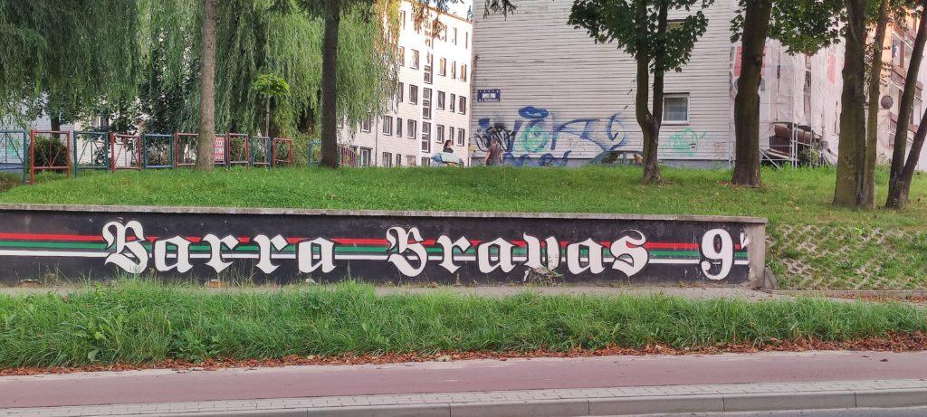 Graffiti w Czeladźi